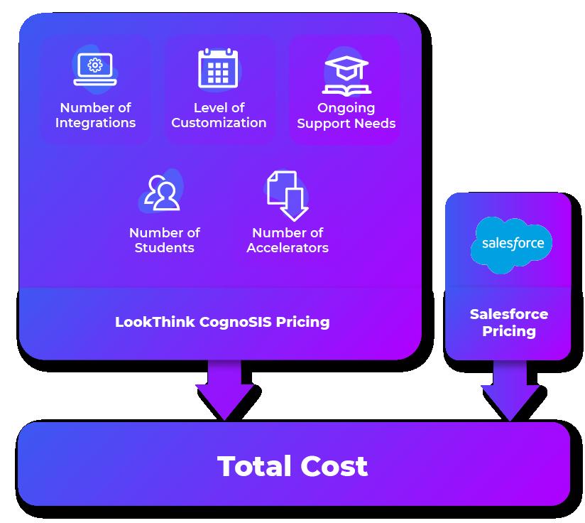 LookThink CognoSIS's pricing matrix